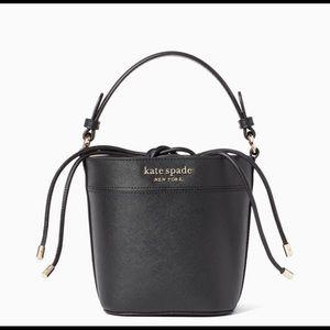 Kate Spade Small Bucket black Cameron bag